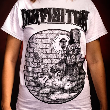 Inkvisitor White T-Shirt