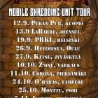 Mobile Shredding Unit Tour